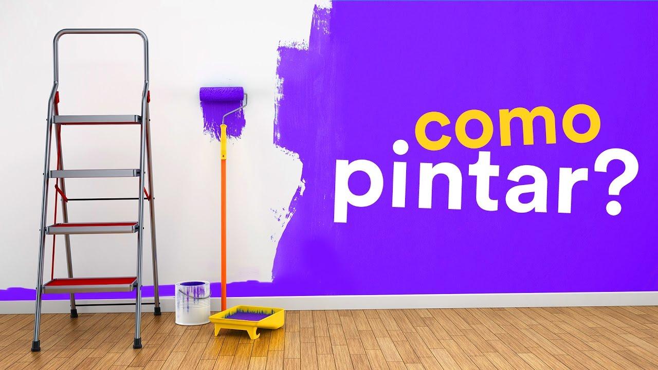 Como pintar uma parede youtube - Papel de pared para pintar ...