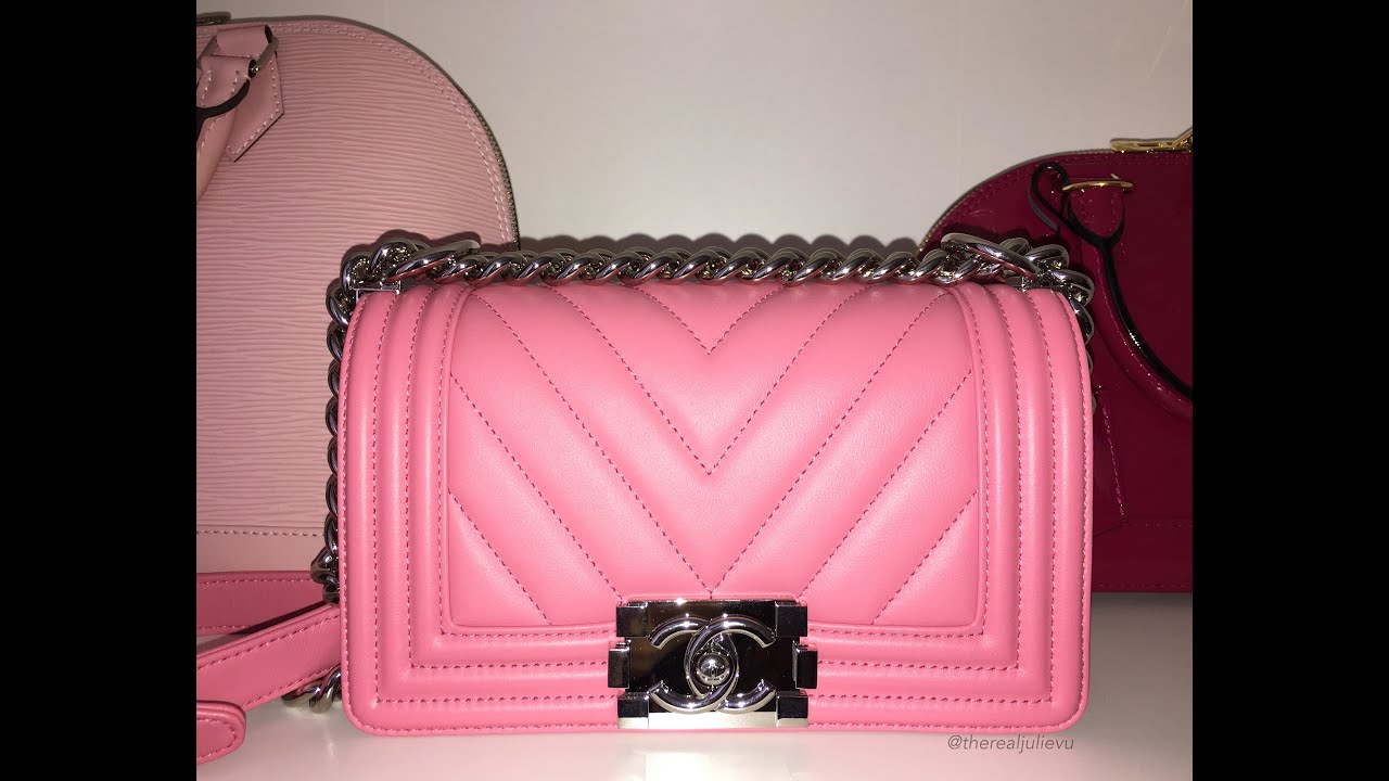 ebdcfd63c225 Chanel Le Boy Small Pink Unboxing! - YouTube