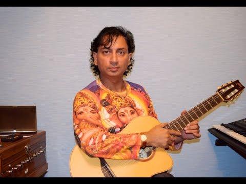 Raghupati Raghav Raja Ram - guitar instrumental with INTRO, Ram Dhun, Biru Saraswati, певец Биру