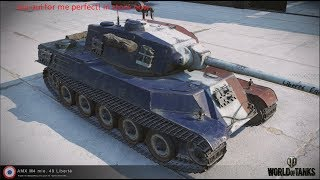 WoT Blitz AMX M4 mle 49 review two games with another mastery