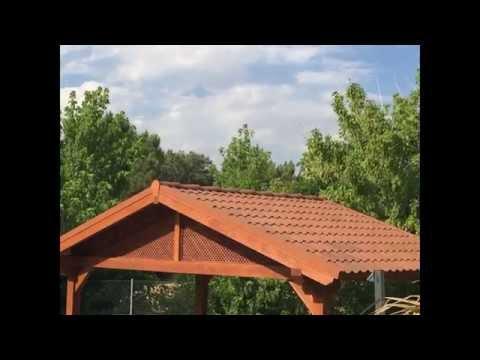 Onduvilla la teja de onduline para el bricolaje im for Tejados madera leroy