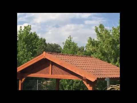 Onduvilla la teja de onduline para el bricolaje im for Tejado madera onduline