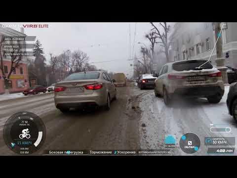 Мое видео6 / Воронеж 25 февраля 2019 снежок