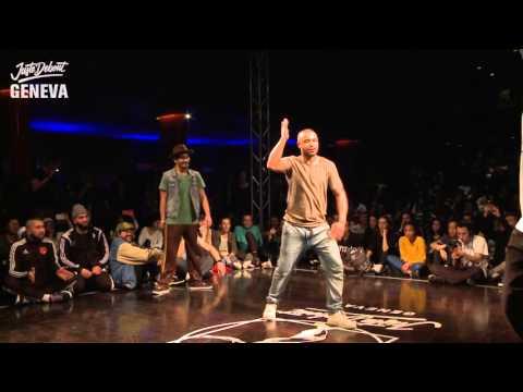 POPPING FINAL -  Sadek&Joker VS Tricks&Shams - Juste Debout Suisse 2016