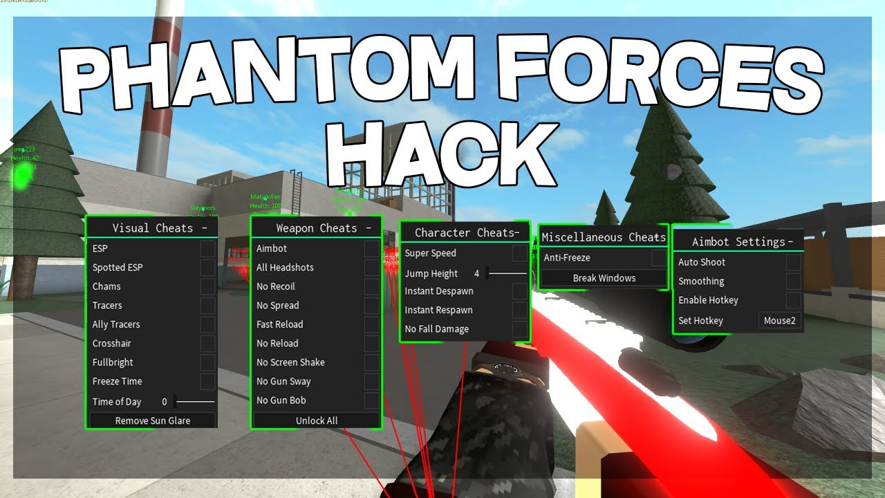 Phantom Forces Hack Unlock All Aimbot Esp More Super Op