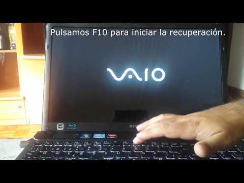 Restaura A Estado De Fabrica Sony Vaio How To Reset To Factory Settings