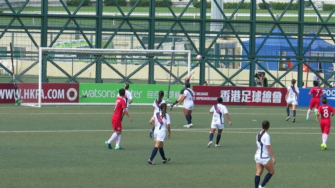 香港vs關島(2016.11.14.第六屆女子東亞盃足球錦標賽第二圈)精華 - YouTube