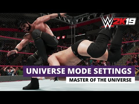 How To Create The Best Settings For Universe Mode! (WWE 2K19)