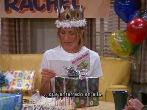 Friends The One Where They All Turn Thirty Rachel Parte 3