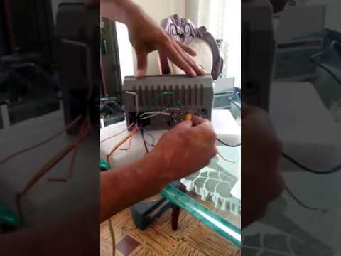 Auto estéreo 2 DIN chino ( como conectar cámara de reversa)