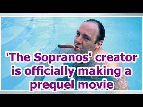 'The Sopranos' creator is officially making a prequel movie