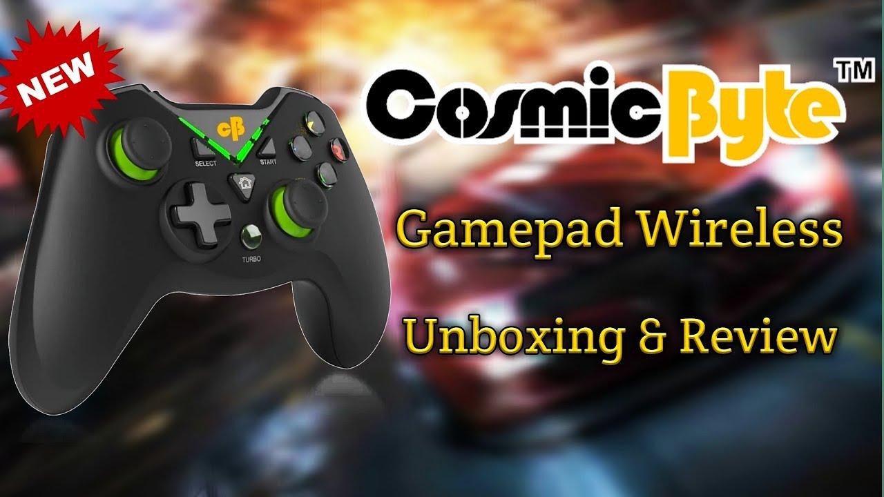 48bbbaab8ab Cosmic Byte C3070W Nebula 2.4G Wireless for PC/PS3 Wi-fi Gamepad (Black,  For PC, PS3)
