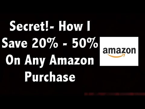 The Secret To Saving 20%-50% On Amazon - and It's Not Using Coupon Codes