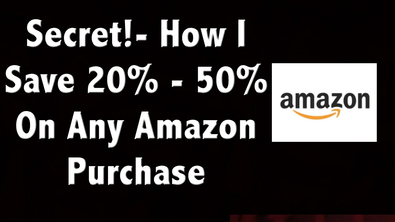 09d65904d The Secret To Saving 20%-50% On Amazon - and It s Not Using Coupon ...