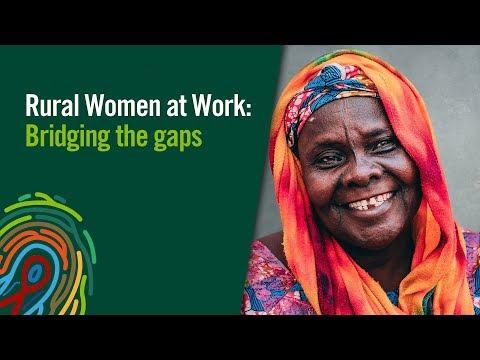 Rural Women at Work: Bridging the Gaps