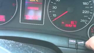 Mise à zéro entretien Audi à 4 b7