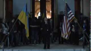Митинг памяти жертв Майдана. Сакраменто.
