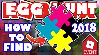 [EVENT] *SEE DESCRIPTION* How To Get Puzzle Pieces Fractured Space Fifteam Egg- Roblox Egg Hunt 2018