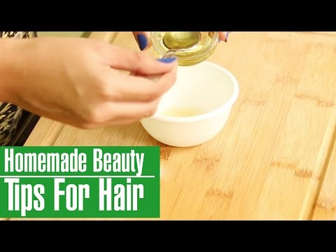 3 Simple & Best Homemade Beauty Tips For Hair