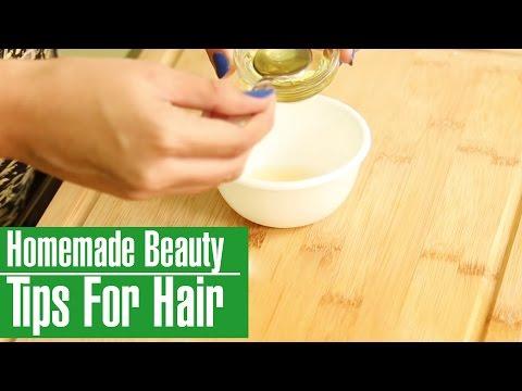 3 Easy Simple Homemade Beauty Tips For Hair