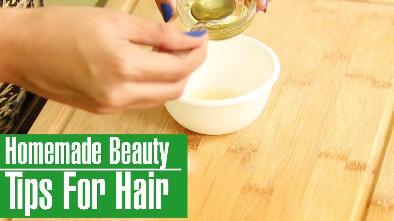 9 Easy & Simple HOMEMADE BEAUTY TIPS FOR HAIR