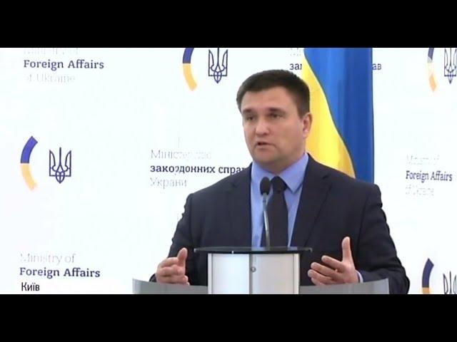 Климкин заявил о разрыве 49 соглашений с Россией