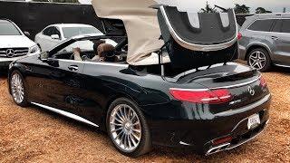 630 Л.С. Mercedes-Amg S 65 V12 – Тест Кабрика За 20+ Млн (!!!) Сша, Калифорния, Pebble Beach.