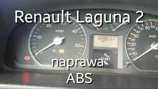 Renault Laguna 2 naprawa ABS