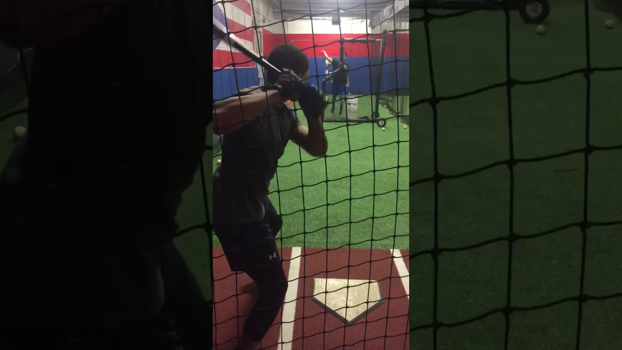2022 Shortstop Justin Hernandez and Batting Cage