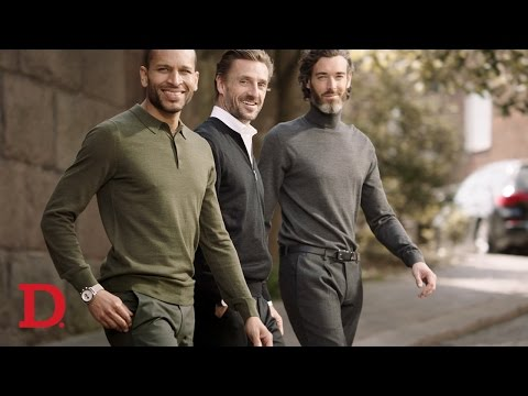 Dressmann | October AW 2016 | Merino Wool Sweaters and Tech Parkas