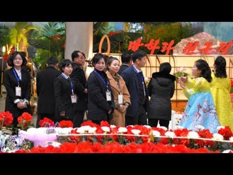 23rd Kimjongilia Festival Opens