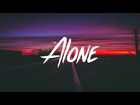 Prznt - ALONE (Lyrics - Lyric Video)