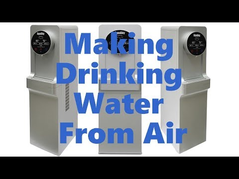 Making Drinking Water From Air Humidity (Water Maker From Air)