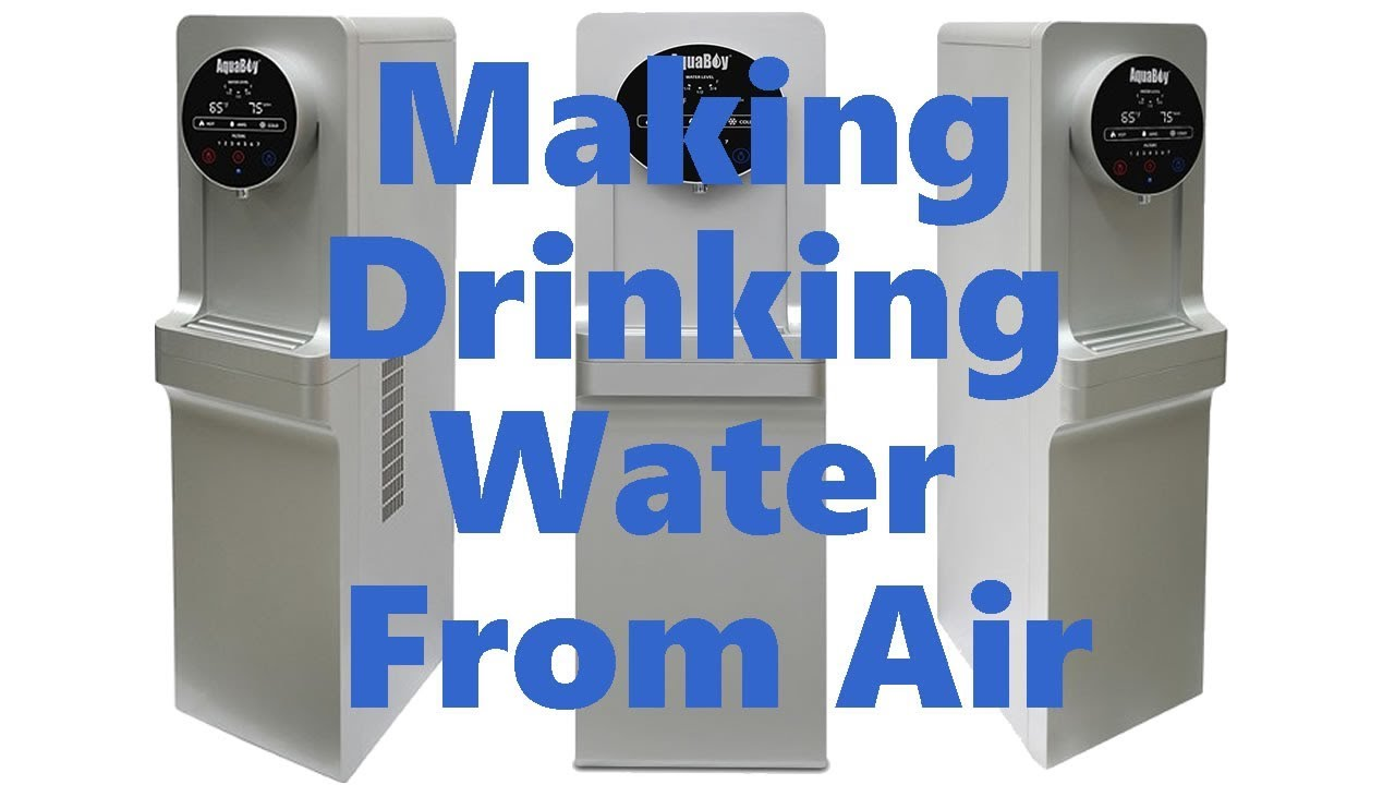 Making Drinking Water From Air Humidity (Water Maker From ...