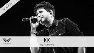 Tu jo mila live by KK at Iris'17, IIM Indore