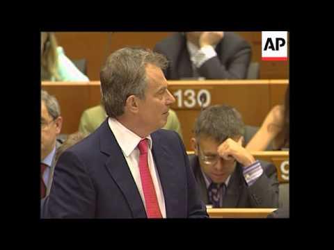 WRAP Blair warns EU will fail unless it modernises, Borrell comments