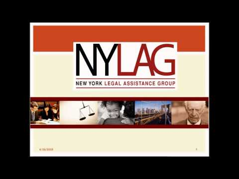 Legal Aid Direct Funding Opportunity: 2015 Citizenship and Integration Grants Webinar