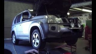 Nissan X-Trail Oil Change and Oil Leak