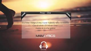 Pmac - One | Lyrics