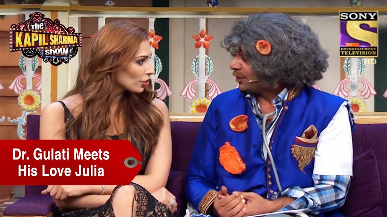 Dr  Gulati Meets His Love Julia - The Kapil Sharma Show