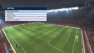 PES 2015 Gameplay Manchester United vs Real Madrid PS4 Final Code 60fps