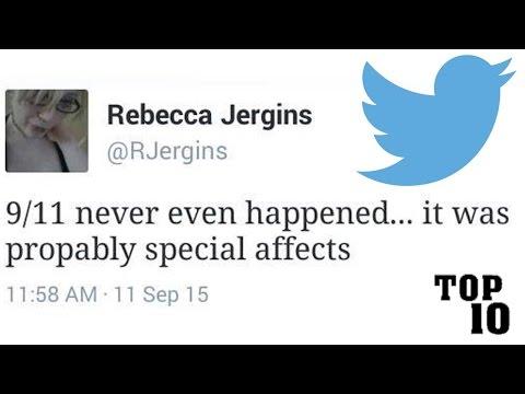 Top 10 Dumbest Tweets - Part 13