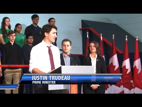 Prime Minister Justin Trudeau announces new youth employment program