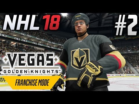 NHL 18 Franchise Mode | Vegas Golden Knights | EP2 | FIRST GAME IN THE DESERT (S1G1)