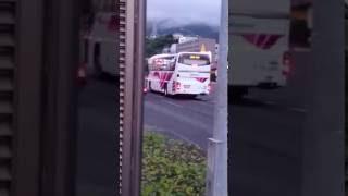 西鉄高速バス させぼ号 7945号車 佐世保バスセンター行き 卸本町入口発車