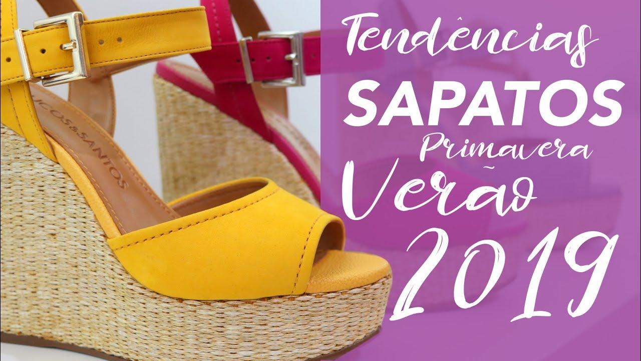 a6b72a6a362 Sapatos  Tendência Primavera Verão 2019 - Vício de Menina - YouTube