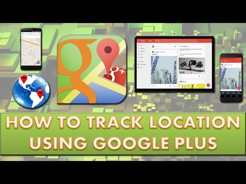 How to track real time location on android using Google plus.