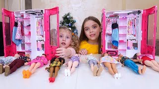 Reactia Melissei la inca un DULAP pentru Papusile Barbie Fashionistas