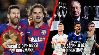 El Sacrificio De Messi Para Ayudar A Griezmann | El Secreto De Florentino Para Reforzar La Delantera