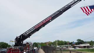Firefighter Funeral Procession: Chris Moore